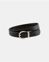 Montblanc - MontBlanc Classic Reversible Leather Belt
