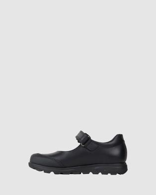 Pablosky School Flower Mary Jane Shoes - Flats (Black)