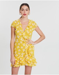 Bardot - Abstract Daisy Dress