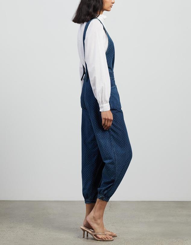 Women Polka Dot Jumpsuit