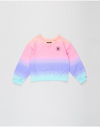 Converse - Super Soft Boxy Ombre Crew Neck - Teens