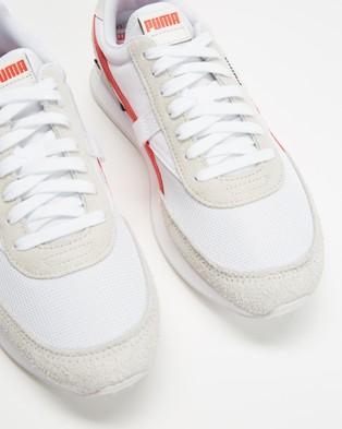 Puma Future Rider Vintage   Unisex - Lifestyle Sneakers (Puma White & Nimbus Cloud)