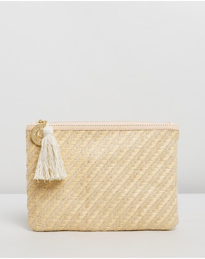 Tigerlily - Woven Clutch