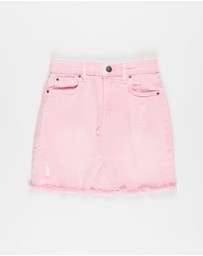 Cotton On Kids - Finn Denim Skirt - Kids-Teens