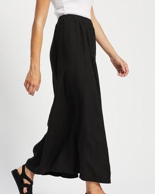 Assembly Label Noma Linen Skirt - Skirts (Black)