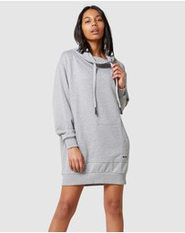 Superdry - Arizona Funnel Sweat Dress