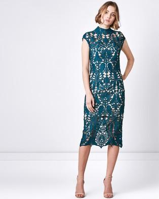 Rodeo Show – Zara Sheath Dress – Bodycon Dresses (Emerald)