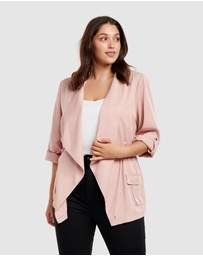 Forever New Curve - Eliza Curve Mid Length Jacket