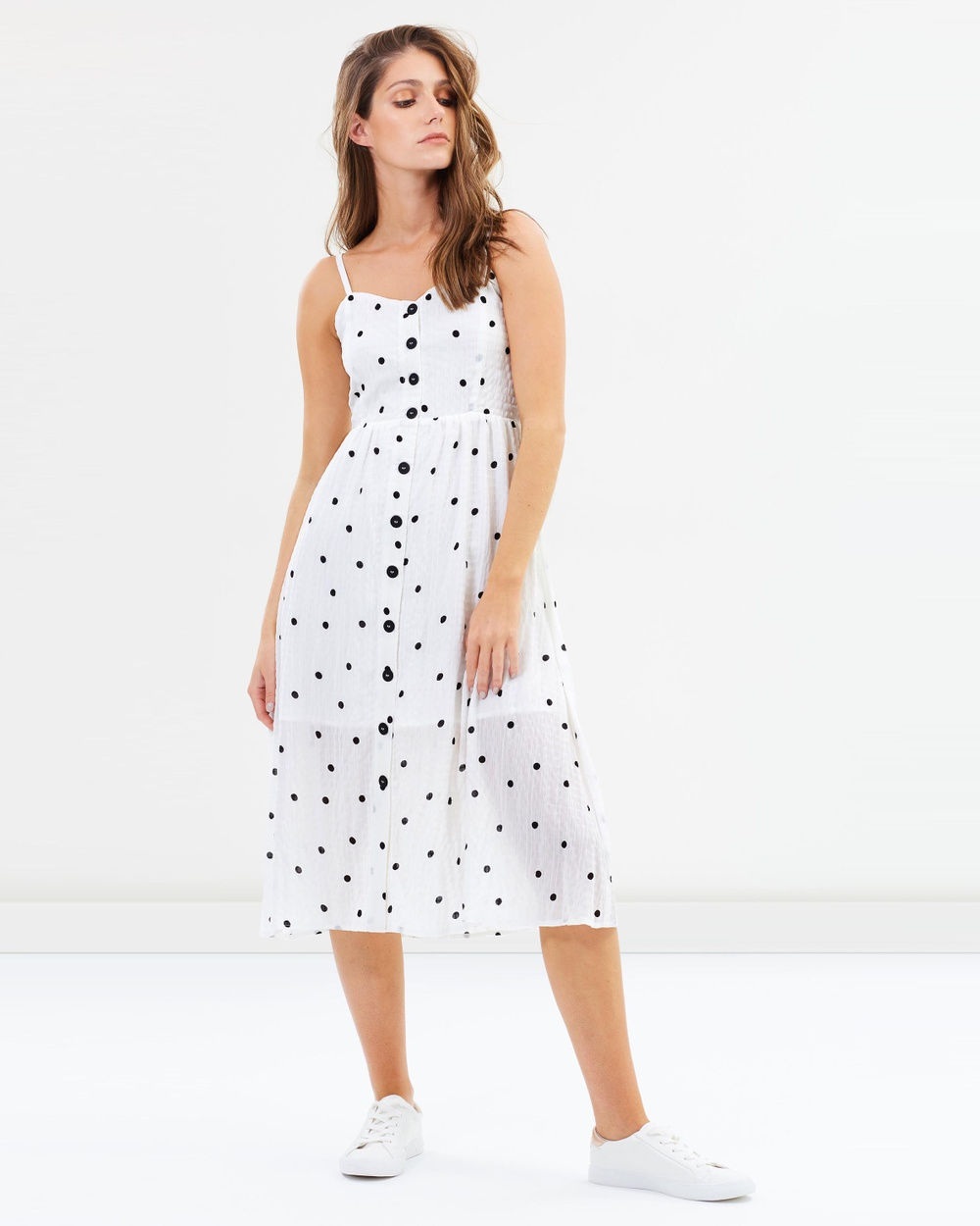 Sass Connect the Dots Derby Day Midi Dress