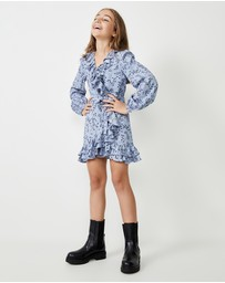 Bardot Junior - Georgie Frill Dress - Teens