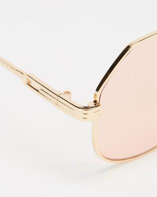 MINKPINK - Flight Mode - Sunglasses (Gold) Flight Mode