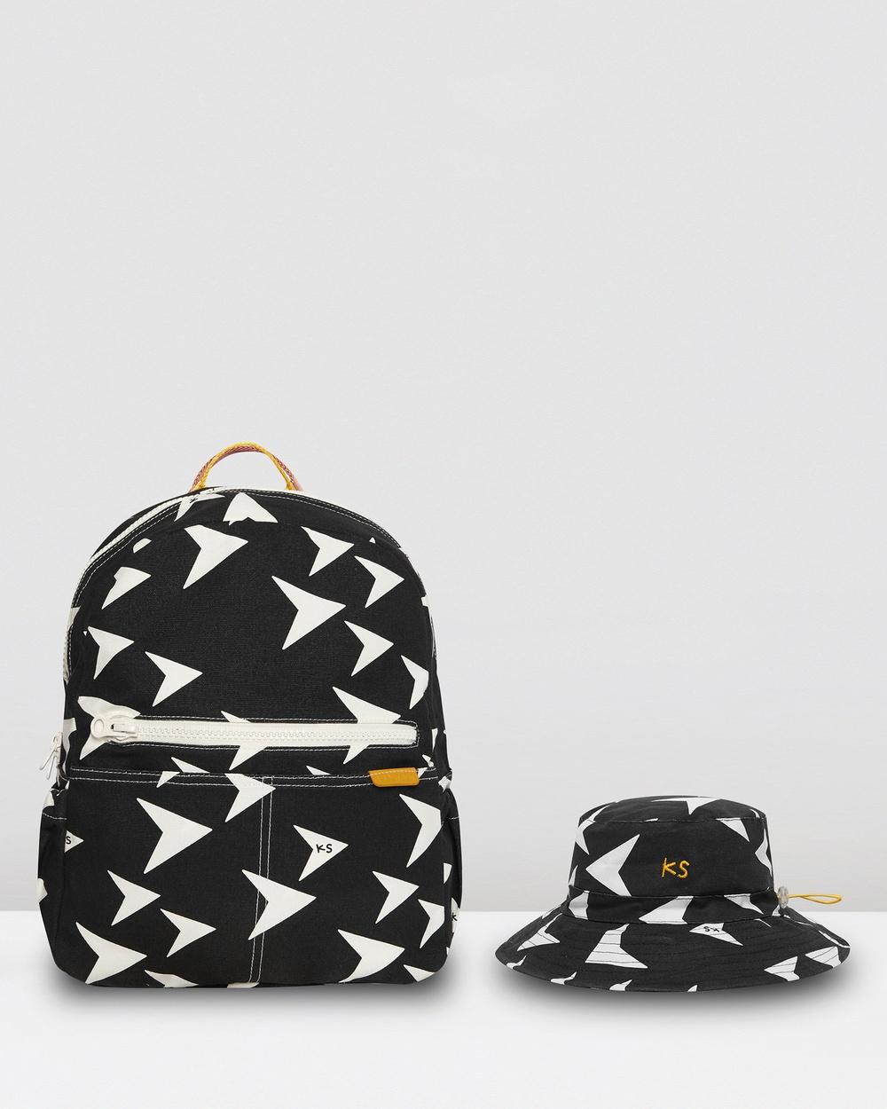 KID STOCK Essentials Bundle Backpacks Charcoal