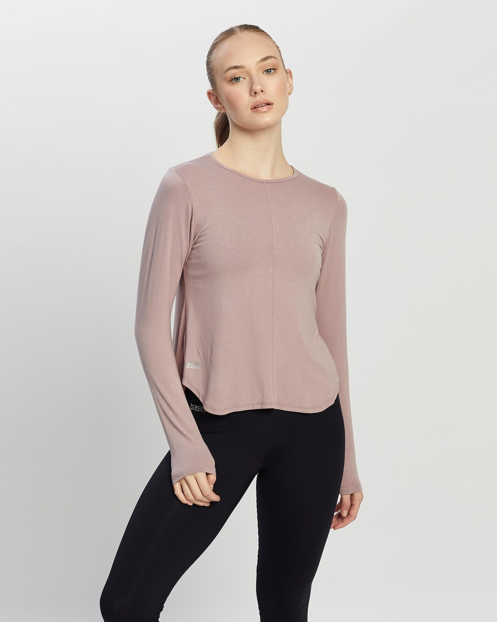 Brasilfit - Dingle Long Sleeve Top - Long Sleeve T-Shirts (Mauve) Dingle Long Sleeve Top