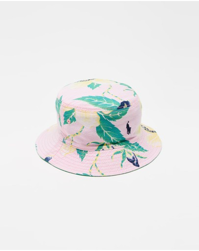 Polo Ralph Lauren - Reversible Bucket Hat - Kids