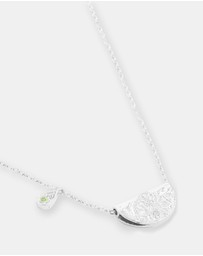 By Charlotte - Protect Your Heart Necklace - August