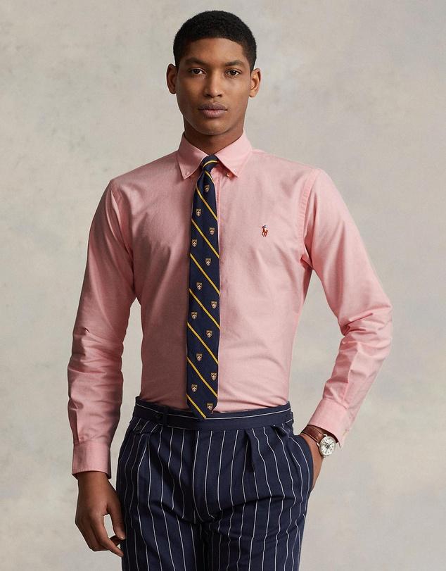 Men Custom Fit Long Sleeve Sport Shirt