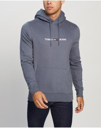 Tommy Jeans - Straight Logo Hoodie