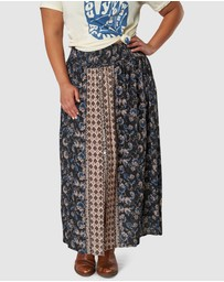 The Poetic Gypsy - Galaxy Print Skirt