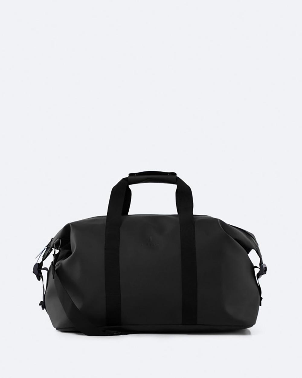 RAINS Weekend Bag Duffle Bags Black