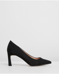 Dorothy Perkins - Drew Flared Heel Court Shoes