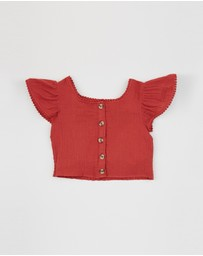 Cotton On Kids - Rosa Ruffle Top - Kids-Teens