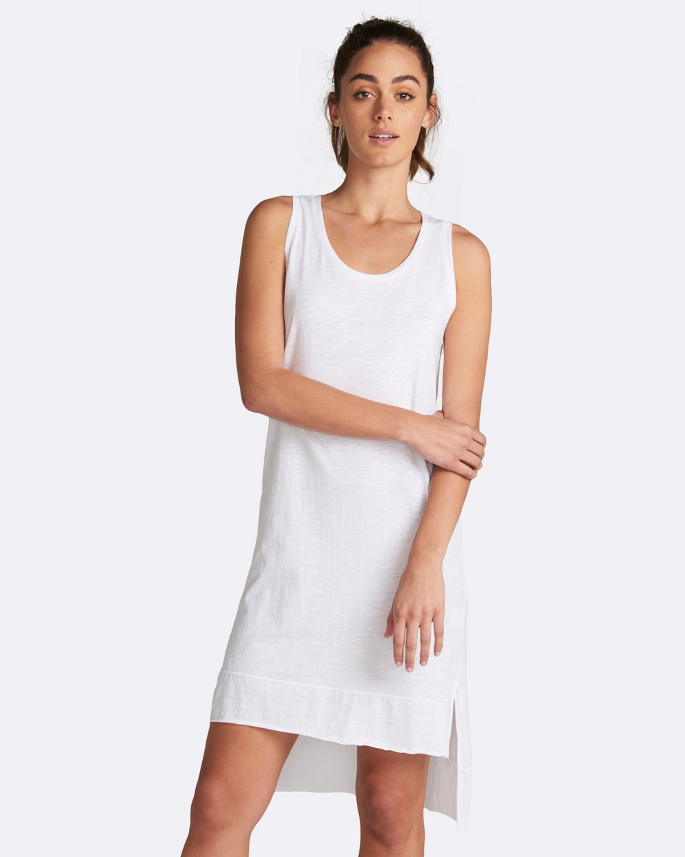 jac + mooki Lola Dress Dresses White Lola Dress
