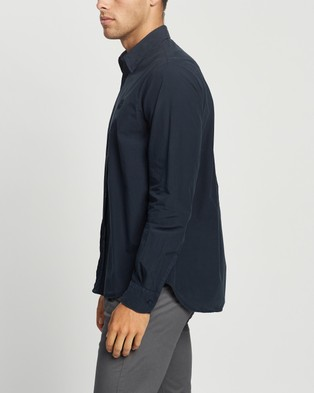 Kenzo Tiger Crest Shirt - Casual shirts (Navy Blue)