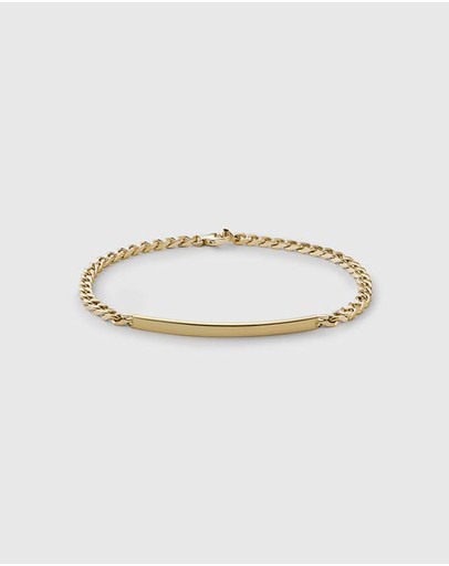 Miansai Id Chain Bracelet Gold