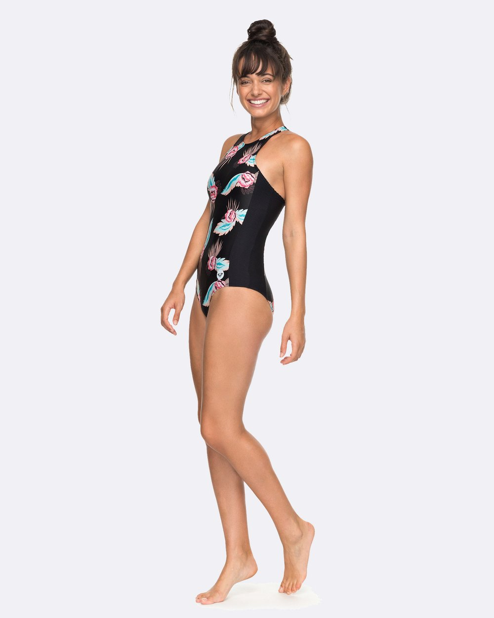 5f45d2e2b Womens Roxy Fitness Printed One Piece Swimsuit by Roxy Online | THE ICONIC  | Australia