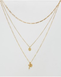 Luv Aj - The Isidore Cross Necklace