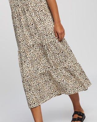 All About Eve Emily Midi Dress - Printed Dresses (PRINT)