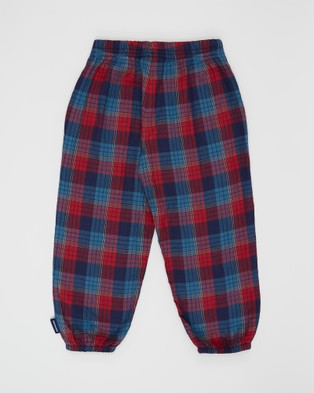 Pappe Dewy Check Pants   Babies Kids - Pants (Red Check)