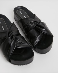 Proenza Schouler - Knot Leather Slides
