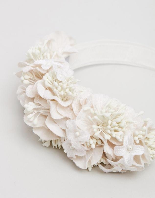 Women Flower Crown Fascinator