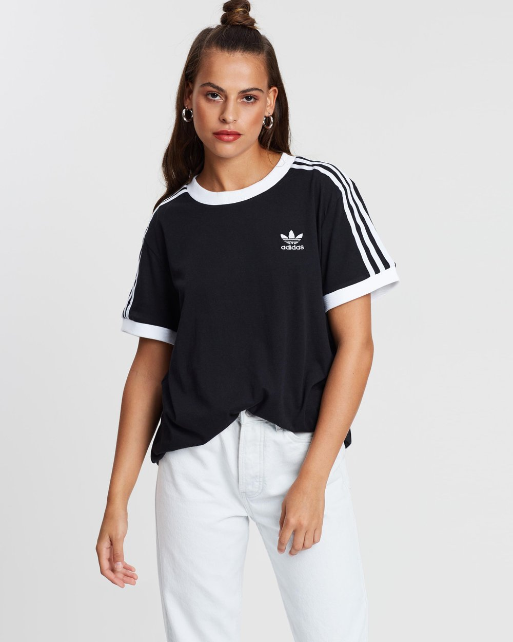 fab3dc8498 3-Stripes Tee by adidas Originals Online | THE ICONIC | Australia