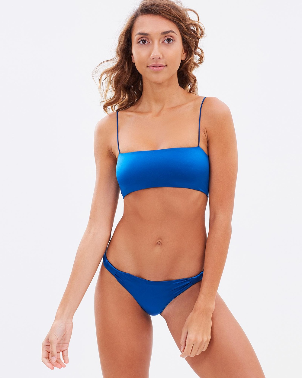 Bond-Eye Swimwear Alchemy Slide By Briefs Bikini Bottoms Blue Alchemy Slide By Briefs