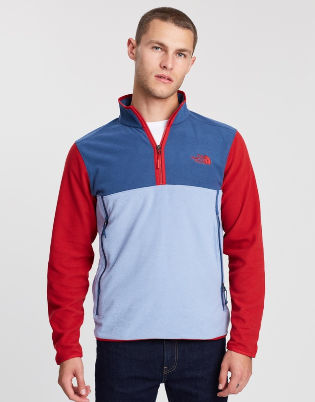 The North Face - Glacier Alpine 1/4 Zip Sweater