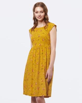 Princess Highway – Francine Fox Dress Yellow