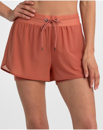 B.o.d By Rachael Finch Interval Double Layer Shorts Light Mahogany