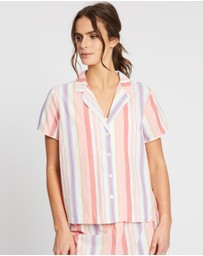 Gap - Sleep Poplin SS Shirt