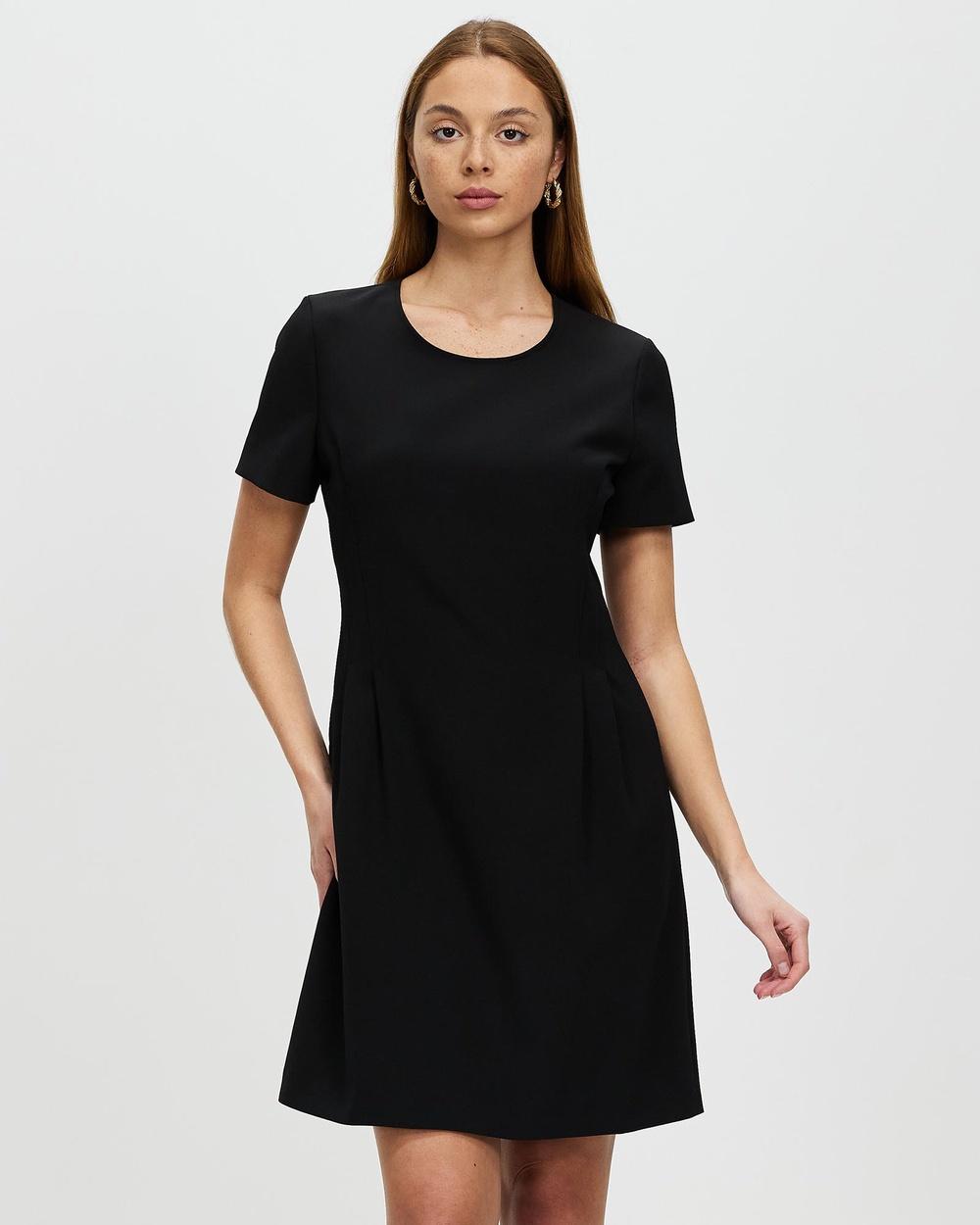 Marcs Apple Of My Eye Crepe Dress Dresses BLACK
