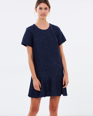 Ginger & Smart – Fortitude Dress – Dresses (Midnight Blue)