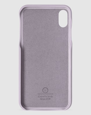 The Horse iPhone XS Max   The Scalloped iPhone Cover - Tech Accessories (Lavender iPhone XS Max)