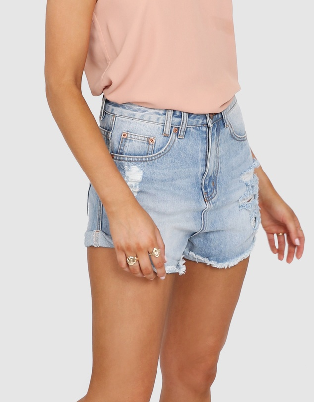 Madison The Label - Brandi Denim Shorts