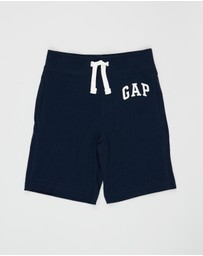 babyGap - Pull-On Logo Shorts - Babies-Kids