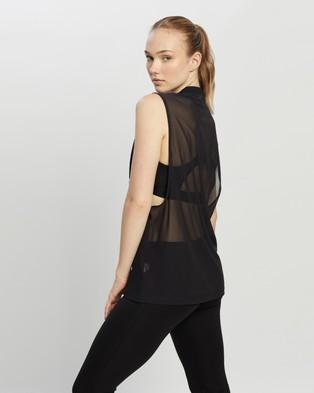 adidas Performance Sportswear Mesh Tank Top Muscle Tops Black