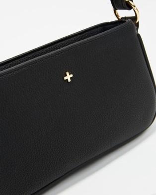 PETA AND JAIN - ICONIC EXCLUSIVE   Promise Shoulder Bag - Handbags (Black Pebble) ICONIC EXCLUSIVE - Promise Shoulder Bag