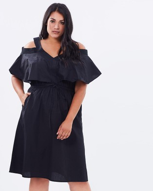 Hope & Harvest – Havana Black Dress Black