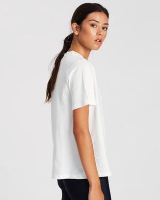 Jasmine Alexa Lee T Shirt - Short Sleeve T-Shirts (White)