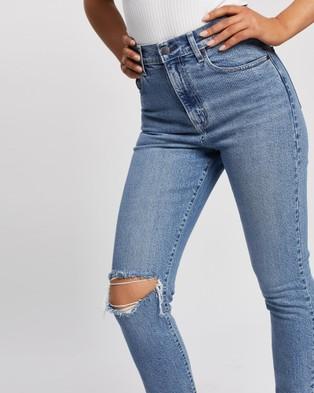 Nobody Denim Frankie Ankle Jeans - Slim (Surfing)
